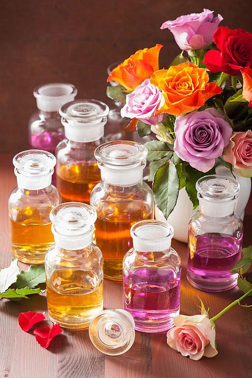 Цветочные ароматы парфюмерии
