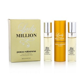 PACO RABANNE LADY MILLION - НАБОР MINI 3Х20 мл