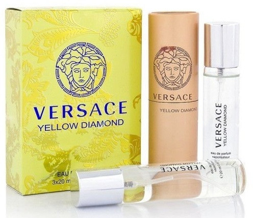 VERSACE YELLOW DIAMOND - НАБОР MINI 3Х20 мл
