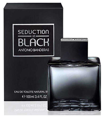 Туалетная вода Antonio Banderas Seduction In Black 100 мл